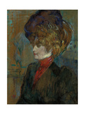 Head of an English Lady; Tete De Lady Anglaise, 1898 Lámina giclée por Henri de Toulouse-Lautrec