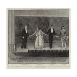 The New English Opera Diarmid at Covent Garden, the Call before the Curtain Giclee Print by Henry Marriott Paget