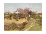 Washing Day at Sandhills, Witley Giclee Print by Helen Allingham