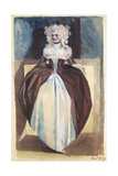 Woman in 17th Century Costume, 1791 Giclee Print by Henry Fuseli