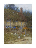A Cottage Near Godalming, Surrey Giclee Print by Helen Allingham