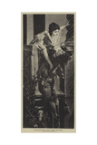 The Balcony Scene from Romeo and Juliet Giclee Print by Hans Makart
