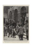 The Work of Guy's Hospital, an Every-Day Scene at its Gates Giclee Print by Henry Marriott Paget