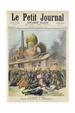 Title Page Depicting the Troubles in Astrakhan During the Time of Cholera in Russia from the Illust Giclee Print by Henri Meyer