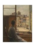 Teniersplace in Antwerp Giclee Print by Henri De Braekeleer