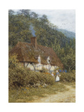 A Cottage Near Witley, Surrey Giclee Print by Helen Allingham