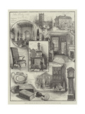 Personal Memorials and Relics of John Wesley, for the Centenary of His Death Giclee Print by Henry Edward Tidmarsh