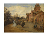 The Country House of Gustave Coûteaux Giclee Print by Henri De Braekeleer