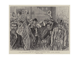 The Condemnation of Captain Dreyfus, What Paris Thinks Giclee Print by Henri Lanos