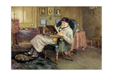 Thomas Carlyle (1795-1881) Giclee Print by Helen Allingham