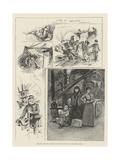 Sketches after the Cyclone at Louisville, Kentucky Giclee Print by Henry Charles Seppings Wright