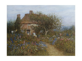 A Cottage Near Brook, Witley, Surrey Giclee Print by Helen Allingham
