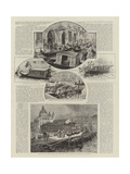Boats of Venice Giclee Print by Henry Edward Tidmarsh