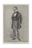 Mr W S Penley as Lord Markham in A Little Ray of Sunshine Giclee Print by Henry Marriott Paget