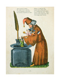 L'Histoire Des Enfants Noirs' from the French Translation of Hoffmann's 'Struwelpeter' Made by Trim Giclee Print by Heinrich Hoffmann