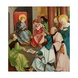 Christ in the Temple, C.1505 Giclee Print by Hans Leonard Schaufelein