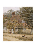 The Old Fish Shop, Haslemere Giclee Print by Helen Allingham