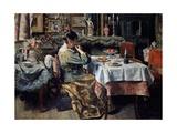 Meal, 1885 Giclee Print by Henri De Braekeleer