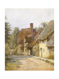 East Hagbourne, Berkshire Giclee Print by Helen Allingham