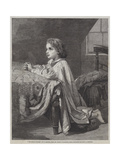 The Child's Prayer Giclee Print by Henry Lejeune