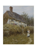 The Priest's House, West Hoathly Giclee Print by Helen Allingham