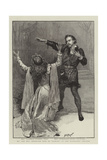 Mr and Mrs Beerbohm Tree in Hamlet at the Haymarket Theatre Giclee Print by Henry Marriott Paget
