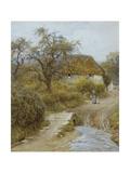 Hill Farm, Symondsbury, Dorset Giclee Print by Helen Allingham
