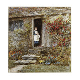 Corcorus Japonica Giclee Print by Helen Allingham