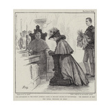 The Conversion to the Roman Catholic Faith of Princess Helene of Montenegro Giclee Print by Henry Marriott Paget