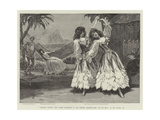 Robinson Crusoe, the Guards' Burlesque at the Chelsea Barracks, the Pas De Deux in the Second Act Giclee Print by Henry Marriott Paget