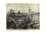 View of the Town from the British Consulate, Mocambique Giclee Print by Harry Hamilton Johnston