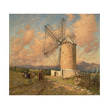 A Spanish Mill Giclee Print by Henry Herbert La Thangue