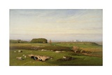 In the Roman Campagna, 1873 Giclee Print by George Snr. Inness