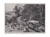 Opening Up a New Country, a Wayside Station on the Railway in British North Borneo Giclee Print by Henry Marriott Paget