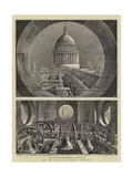 The New Bells at St Paul's Cathedral Giclee Print by Henry William Brewer