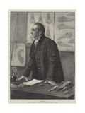 The Professor Giclee Print by Henry Stacey Marks