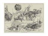 Rambling Sketches, Salisbury Giclee Print by Herbert Railton