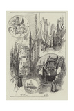 Rambling Sketches, Rouen, Normandy Giclee Print by Herbert Railton
