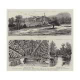 Tatton Park, Knutsford, Cheshire, the Seat of Lord Egerton of Tatton Giclee Print by Henry William Brewer