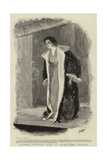 Signora Eleonora Duse at Drury Lane Theatre Giclee Print by Henry Marriott Paget