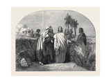 Christ with the Disciples in the Corn Field Giclee Print by Henry Warren