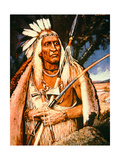 Iroquois Chief Giclee Print by Henry H. Cross