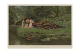 The Leafy Month of June Giclee Print by Henry John Yeend King