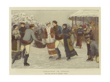 Christmas in Canada Giclee Print by Henry Towneley Green