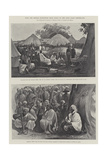 With the British Expedition from Accra to the Gold Coast Hinterland Giclee Print by Henry Charles Seppings Wright