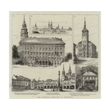 The Imperial Meeting at Kremsier Giclee Print by Henry William Brewer