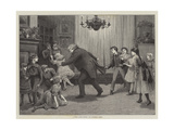A Romp after Dinner Giclee Print by Henry Towneley Green