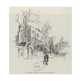 Mr William Morris's House at Hammersmith Giclee Print by Herbert Railton