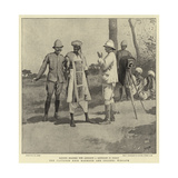 The Captured Emir Mahmoud and Colonel Wingate Giclee Print by Henry Marriott Paget