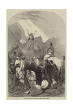 John the Baptist Preaching Giclee Print by Henry Warren